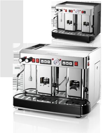 Paper pods coffee espresso machines